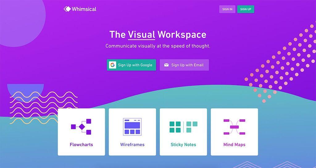 Purple Web Design - Color In Web Design