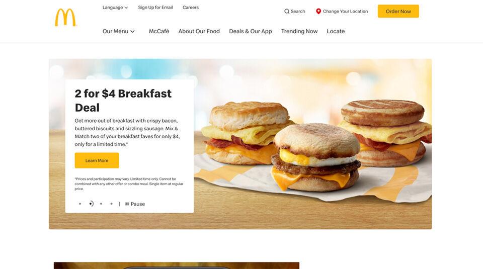 Brand Identity Examples - McDonald's