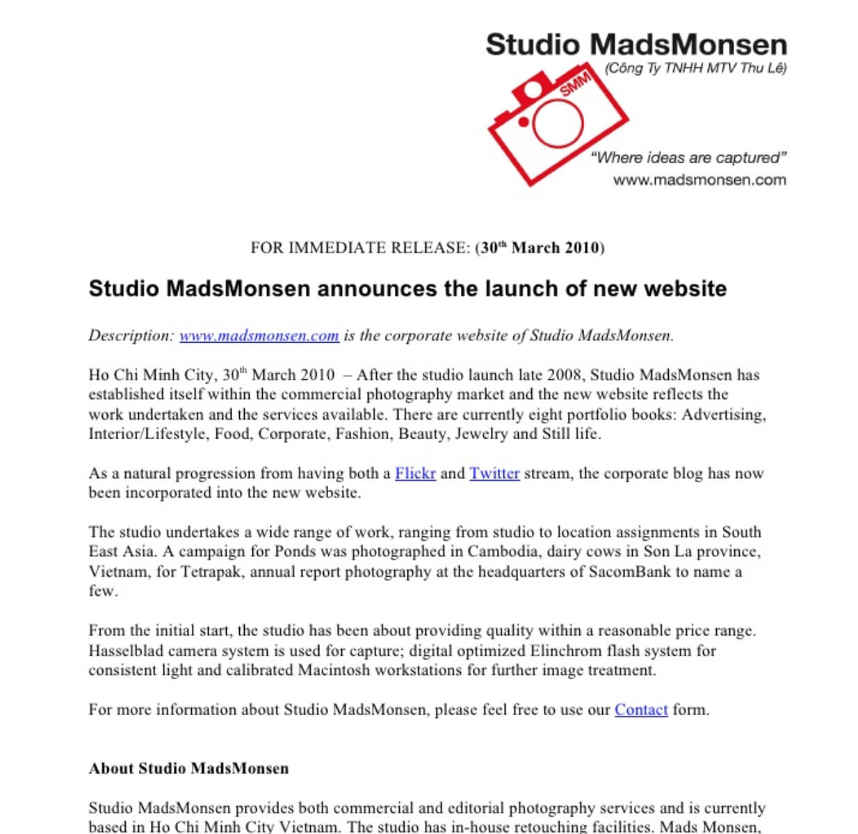 Publish a Press Release