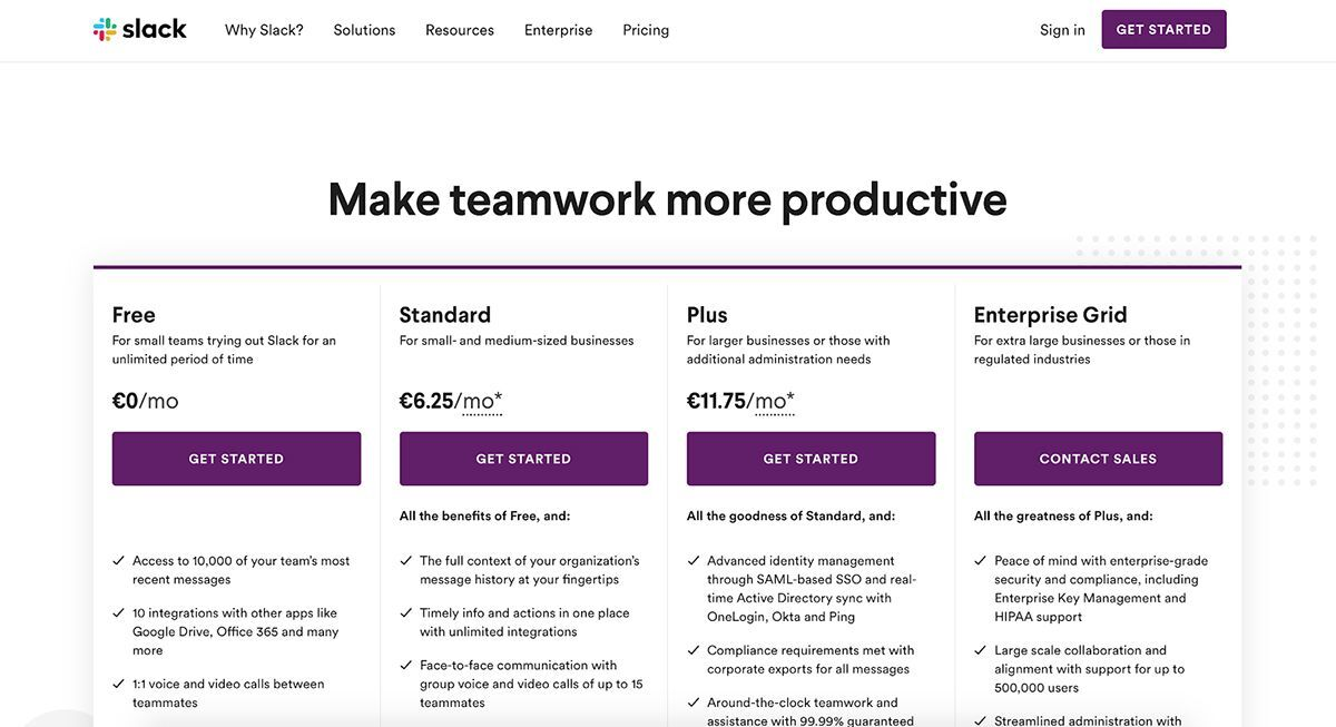 Slack - Make Teamwork More Productive